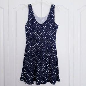 H&M polkadot skater dress